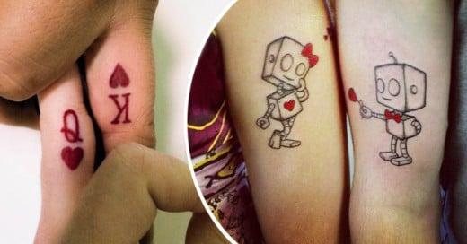 Una desición muy complicada hacerte un tatuaje junto a tu pareja actual