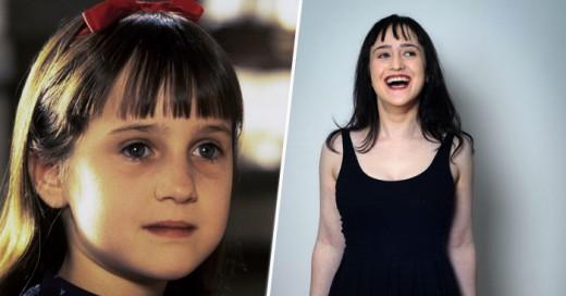 Como han crecido los protagonistas de Matilda Y no han muerto ok