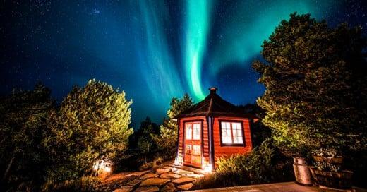 Los noruegos si que viven en un cuento de hadas