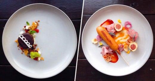 La cuenta de Instagram Chef Jaques La Merde está haciendo que la comida chatarra sea vista como alta cocina por su apariencia.