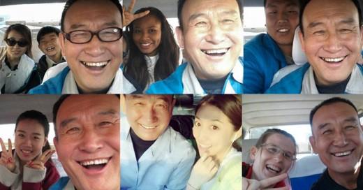 El Tío Teng ya rompió récords de selfies
