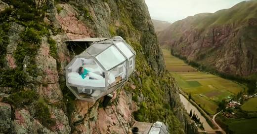 """Si eres de esos viajesros un poco temerario aquí la muestra de un """"Hotel"""" Extremo"""