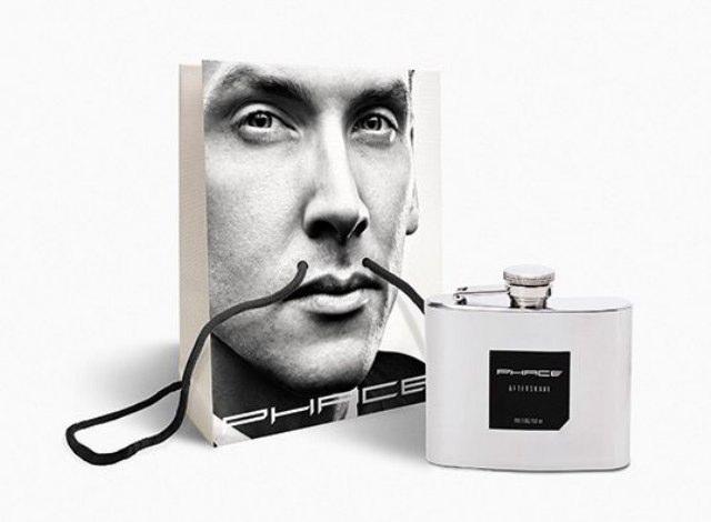 Diseño en las bolsas del perfume Phace
