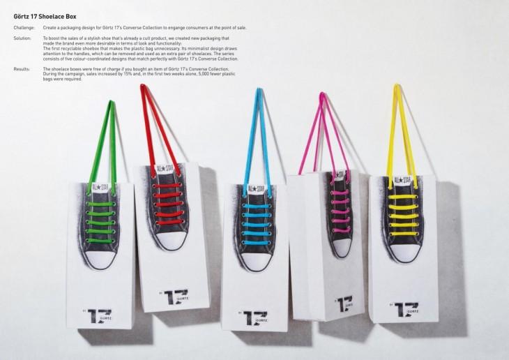 Bolsas de la marca Converse con formas de tenis