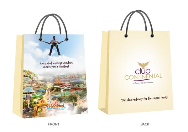 diseño de bolsas del club continental