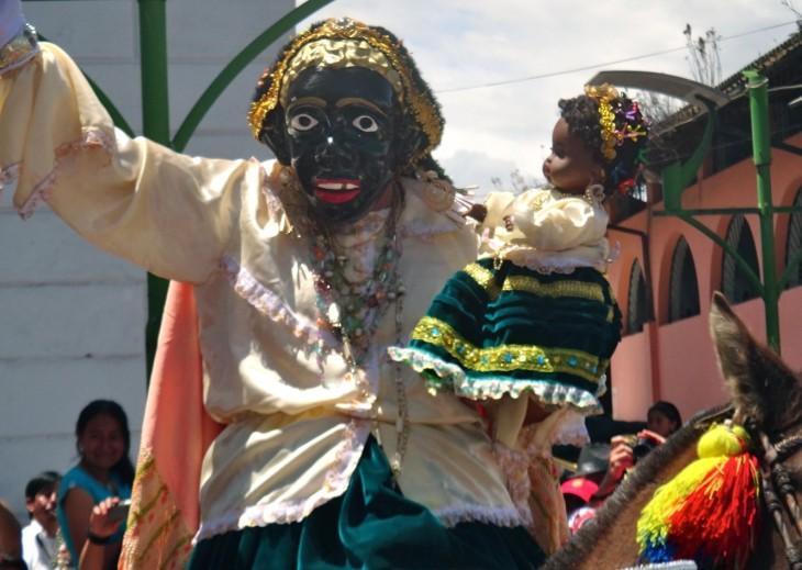 fiesta de la mamá negra en ecuador