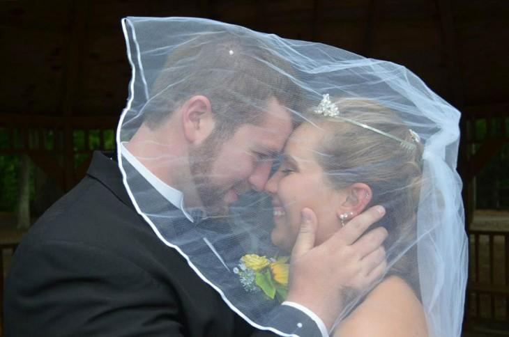 recuerdo de su primera boda