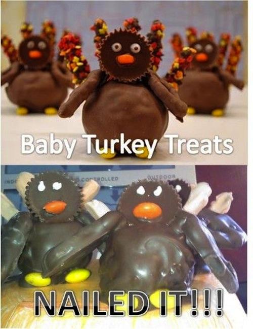 Cupcakes de pingüinos