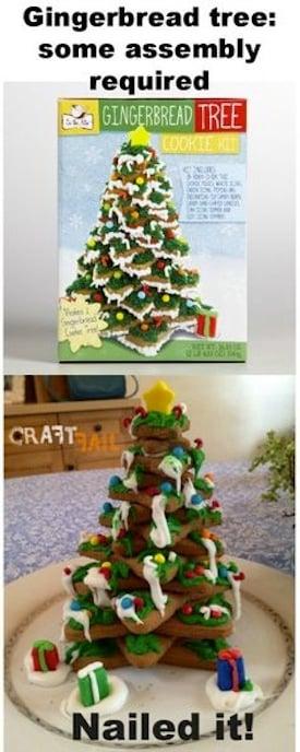 Pastel en forma de árbol de navidad