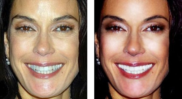 Teri Hatcher sin photoshop