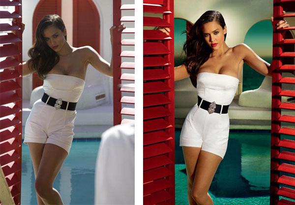 Jessica Alba con photoshop