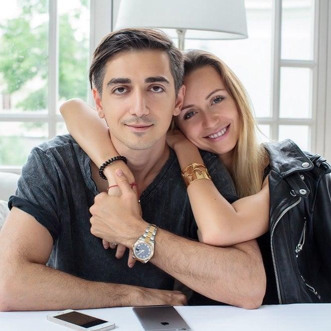 Fotógrafo Murad Osmann y su esposa Natalia