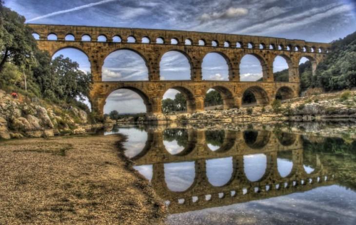 Puente Du Gard, Francia