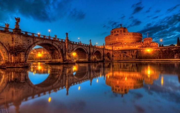 Puente Sant´Angelo, Roma Italia