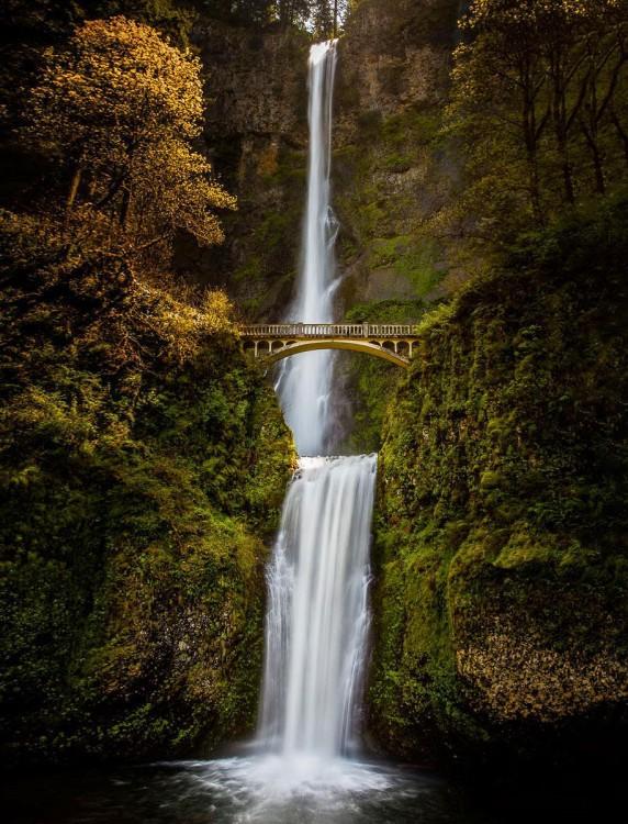 Cataratas de Multnomah, Oregon, Usa