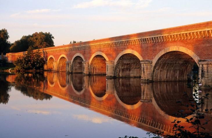 Puente Canal Du Cacor, Francia