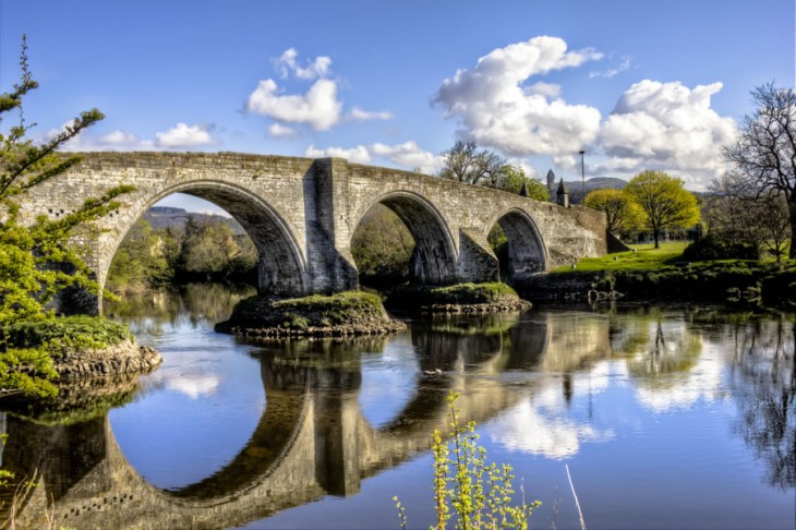 Stirling Bridge, Escocia