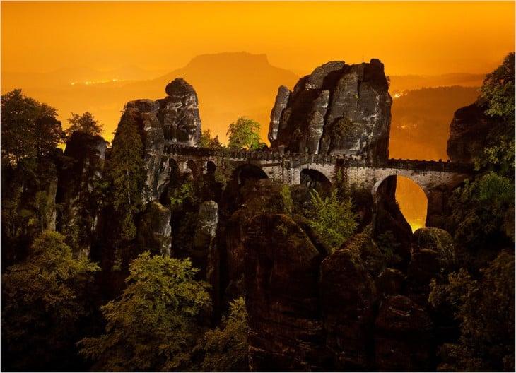 Puente Bastei, Alemania