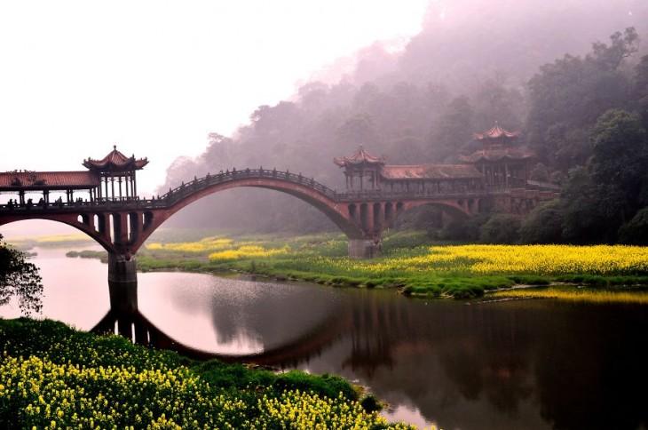 Leshan, provincia de Sichuan, China