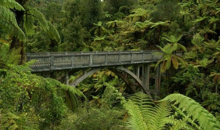 Puente a ninguna parte, Whanganui, Nueva Zelanda