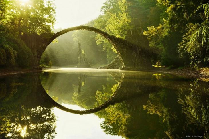 Puente Rakotz, Alemania