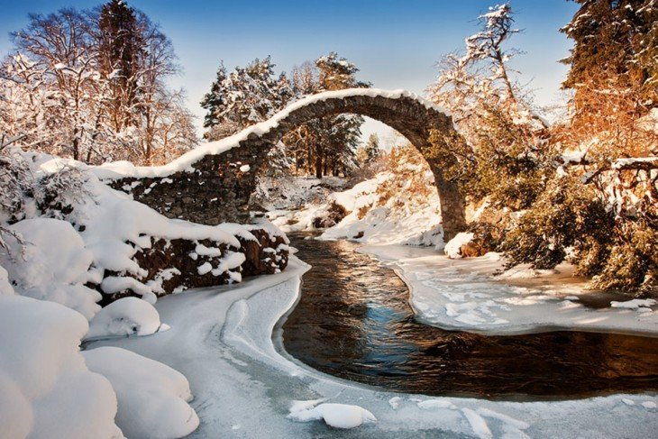 Carrbridge, Escocia
