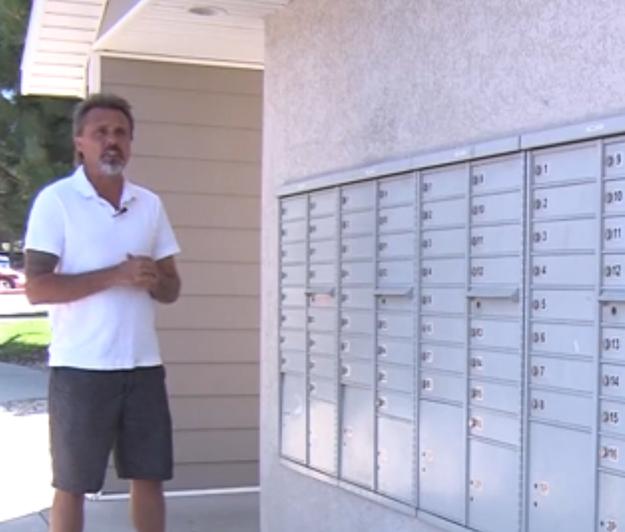 Ron Lynch el cartero local de Sandy Utah