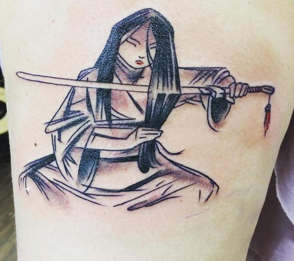 Tatuaje de Mulan