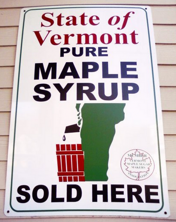 Logotipo maple de Vermont