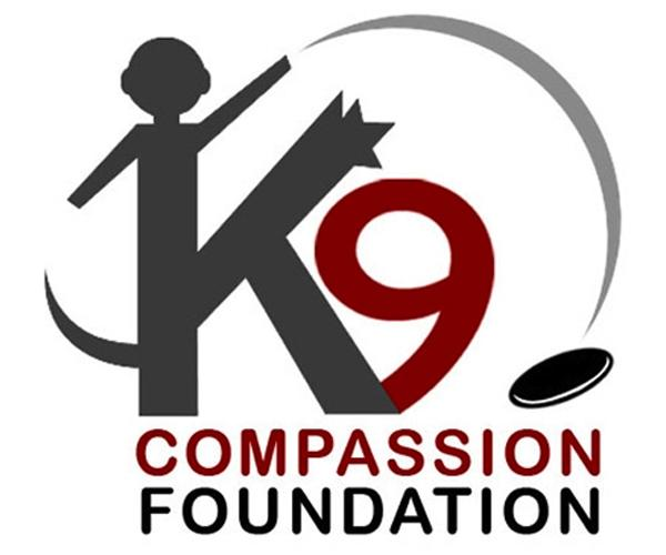 logotipo del K9 compassion foundation