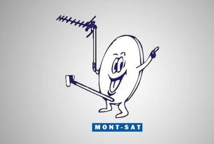 logotipo de la señal por cable Mont-Sat