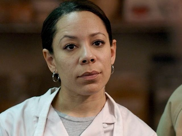 Gloria Mendoza en su personajes dentro de la serie Orange is The New Black
