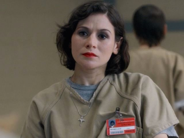 Personaje principal de OITNB Lorna Morello