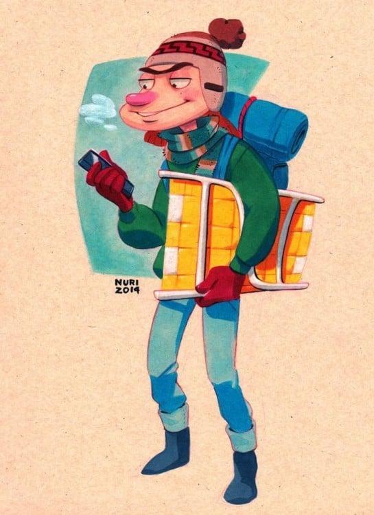 stoopkid personaje del niño del portico de Hey arnold en las que se ve como si en realidad tuviera 26 años