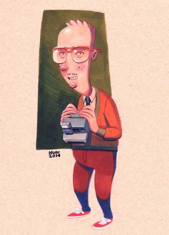 brainy personje de la caricatura hey arnold obsesionado con helga pataki a los 26 años de edad