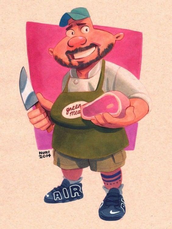 harold berman personaje de la caricatura hey arnold a la edad de 26 años