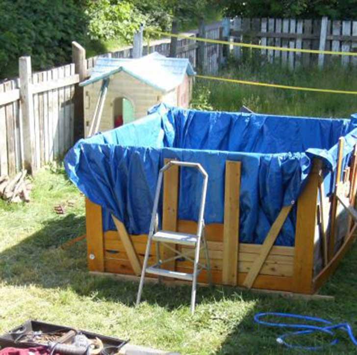 20 ingeniosas personas que crearon originales piscinas for Pasos para construir una alberca