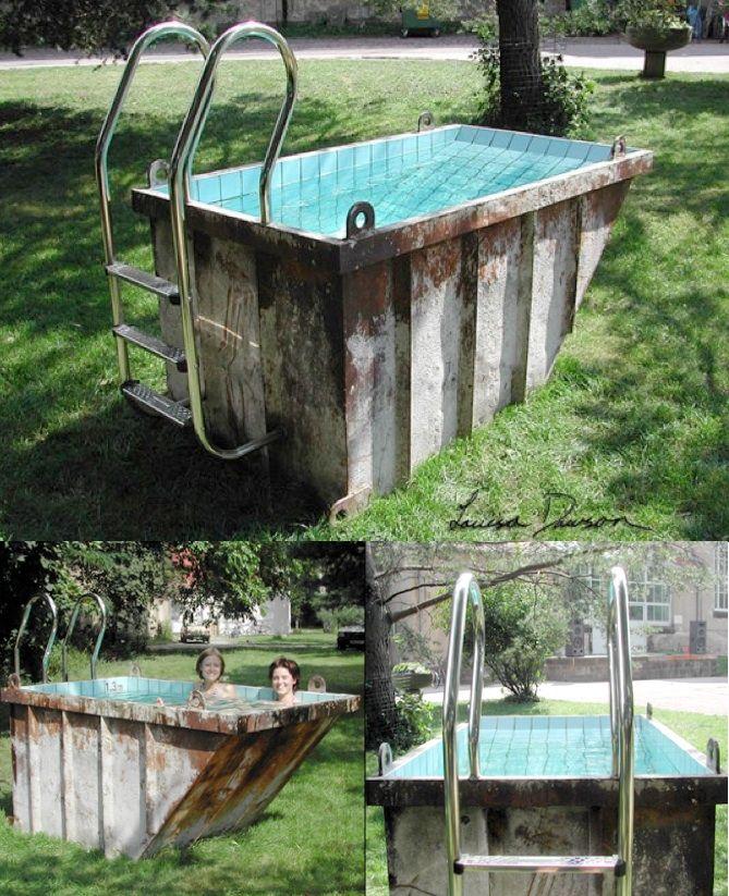20 ingeniosas personas que crearon originales piscinas for Como hacer mi propia piscina