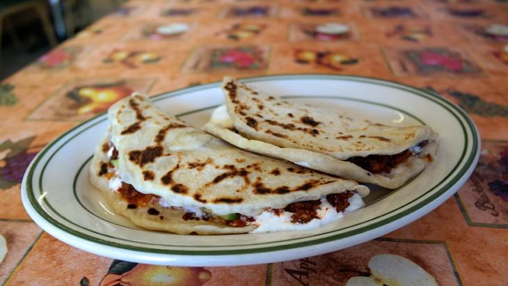 Baleadas una de las comidas típicas de Honduras
