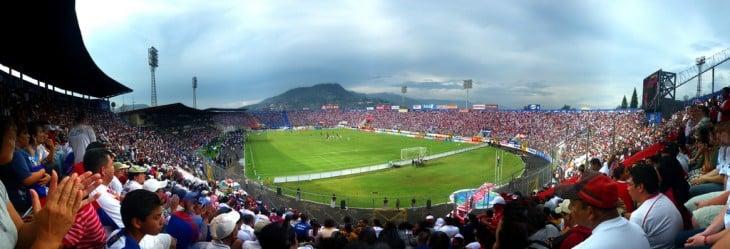 El Estadio Nacional de Tegucigalpa es uno de los escenarios deportivos más importantes de Honduras