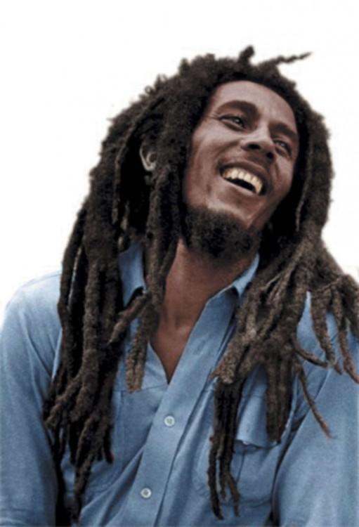 Fotografía de Bob Marley