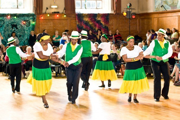 El Mento es una danza típica de Jamaica
