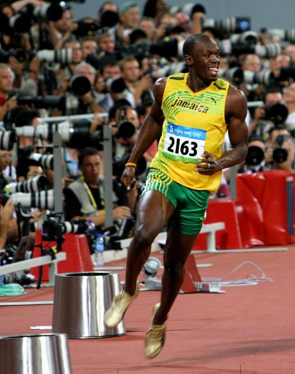 Atleta Jamaiquino Usain Bolt