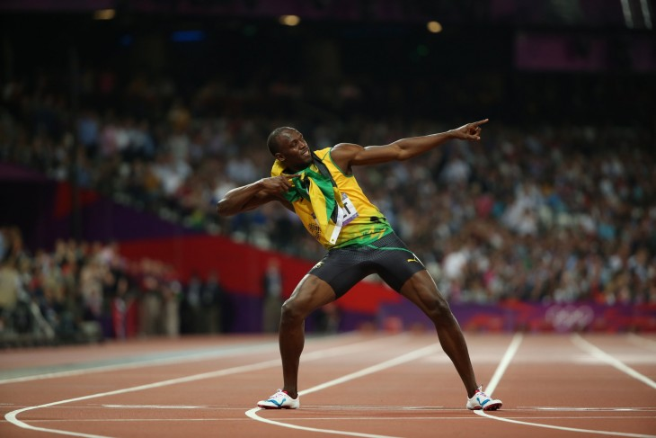 "Usain Bolt o ""Lightning Bolt"""