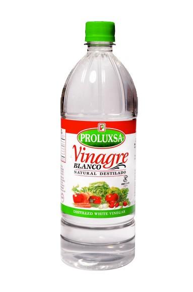 Botella transparente de Vinagre