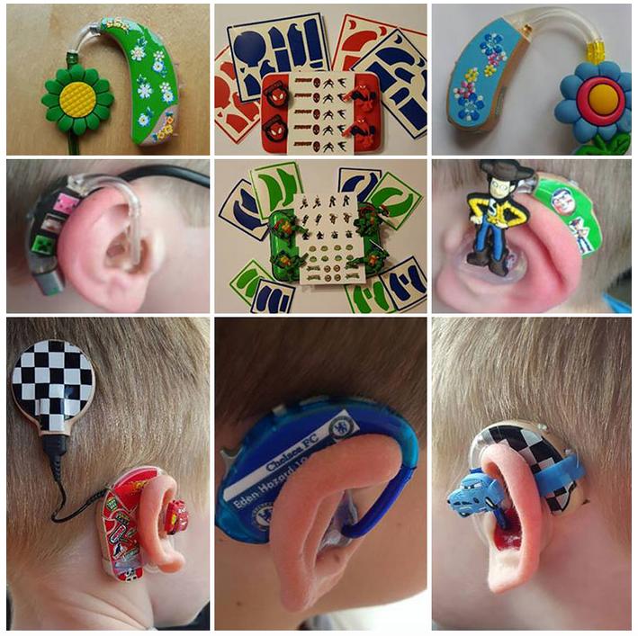 cosas de las que están hechas los audífonos