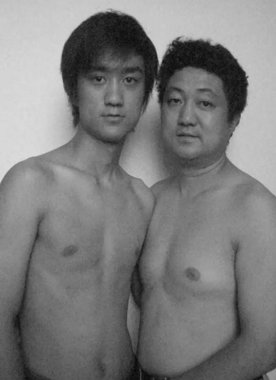 Serie de fotos padre e hijo 2005