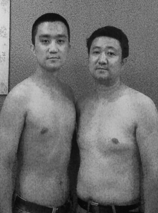 fotografía de la serie de fotos padre e hijo en 2010