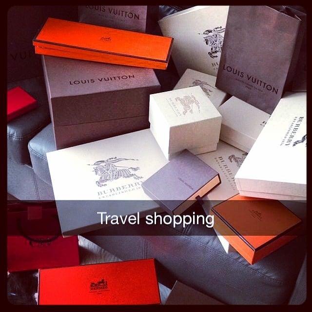Bolsas de diferentes tiendas