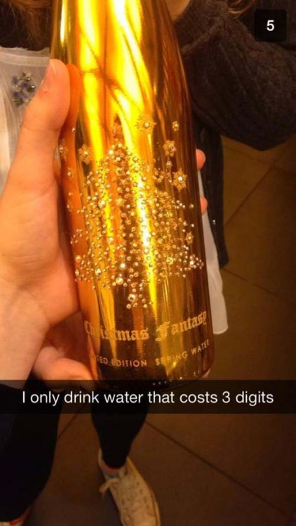 Botella de agua de Christmas Fantasy